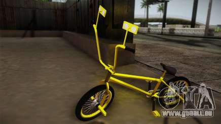 New BMX Yellow für GTA San Andreas