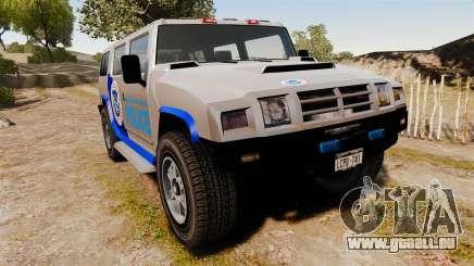 Patriot Police v2.0 für GTA 4