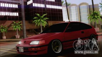 Honda CRX Low Gang pour GTA San Andreas