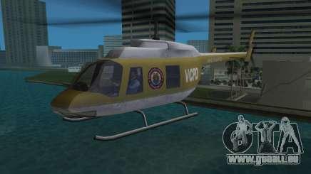 Hélicoptère de la Police de GTA VCS pour GTA Vice City