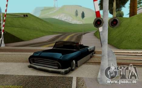 Océanique Convertible pour GTA San Andreas