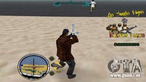 Vagos HUD für GTA San Andreas dritten Screenshot