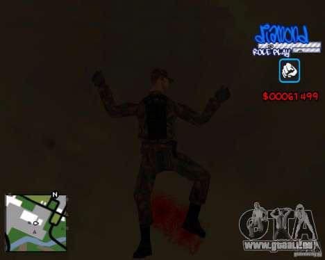 C-Hud Diamond RP pour GTA San Andreas cinquième écran