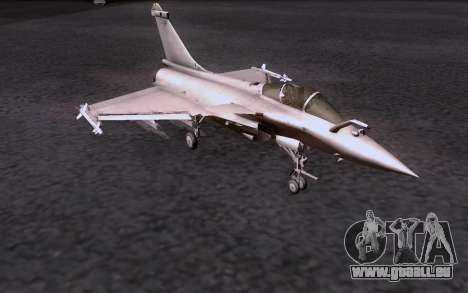 Dassault Rafale M pour GTA San Andreas sur la vue arrière gauche