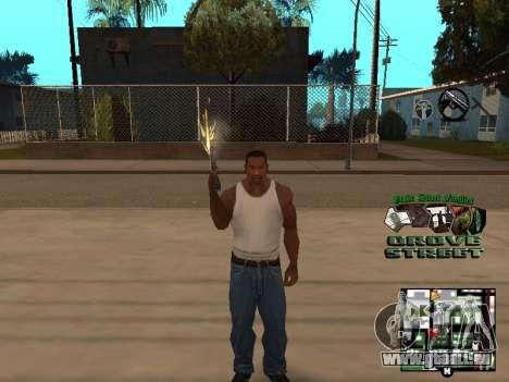 С-PALETTE de Grove Street pour GTA San Andreas quatrième écran