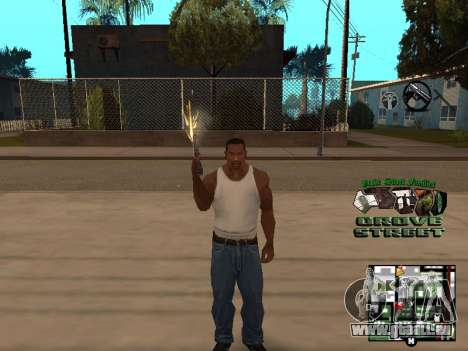 С-HUD Grove Street für GTA San Andreas her Screenshot