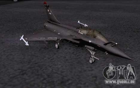 Dassault Rafale M für GTA San Andreas Innen
