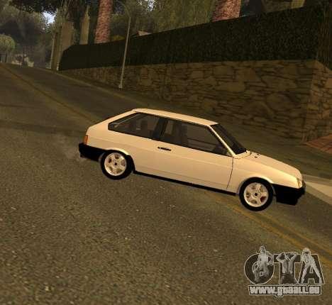 ВАЗ 2108 GVR Version 2.0 pour GTA San Andreas
