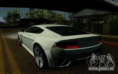 Rapid GT für GTA San Andreas Seitenansicht