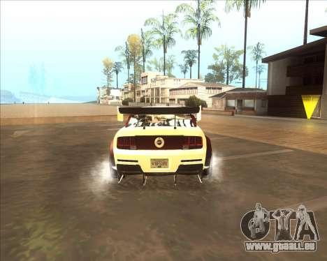 Ford Mustang GT из NFS MW pour GTA San Andreas vue de droite