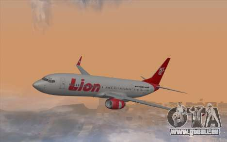 Lion Air Boeing 737 - 900ER pour GTA San Andreas