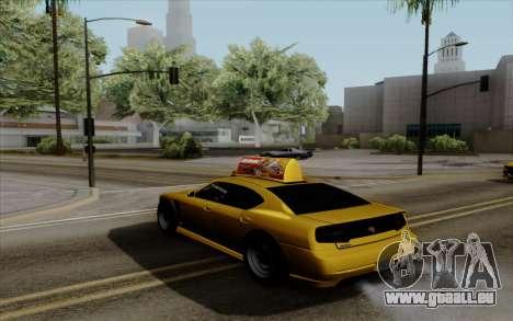Buffalo Taxi pour GTA San Andreas laissé vue