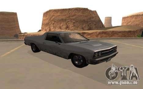Picador GTA 5 pour GTA San Andreas