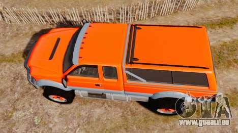 GTA V Vapid Sandking XL wheels v2 für GTA 4 rechte Ansicht