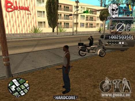 C-HUD Hardcore By KD pour GTA San Andreas septième écran