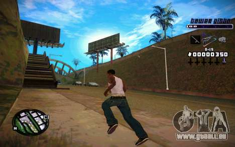 C-HUD Tawer Gitto pour GTA San Andreas
