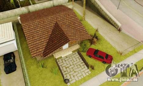 Neue Texturen des Hauses Denis für GTA San Andreas sechsten Screenshot