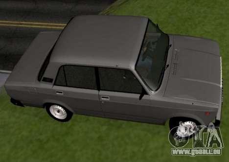 VAZ-2107 pour GTA San Andreas laissé vue