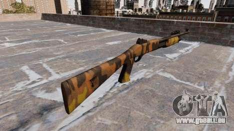 Ружье Benelli M3 Super 90 Fallen Camos für GTA 4 Sekunden Bildschirm