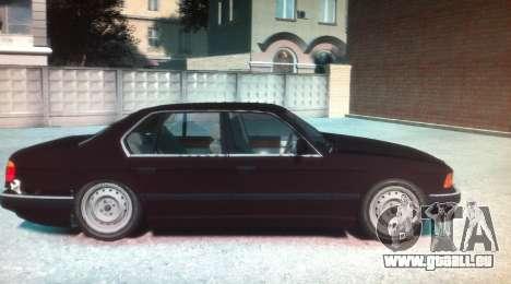 BMW 735iL E32 ver 2 pour GTA 4 est une gauche