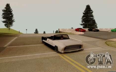 Oceanic Cabrio für GTA San Andreas Innenansicht