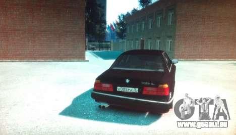BMW 735iL E32 ver 2 pour GTA 4 Vue arrière de la gauche