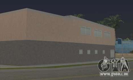 New gym pour GTA San Andreas quatrième écran
