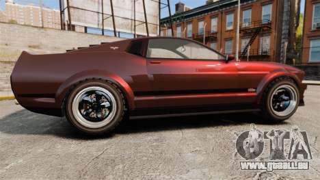 GTA V Vapid Dominator wheels v1 pour GTA 4 est une gauche