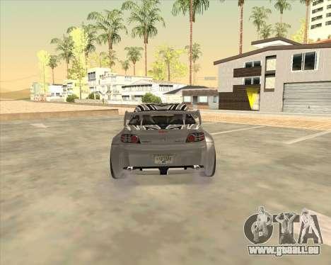 Mazda RX-8 из NFS Most Wanted für GTA San Andreas zurück linke Ansicht