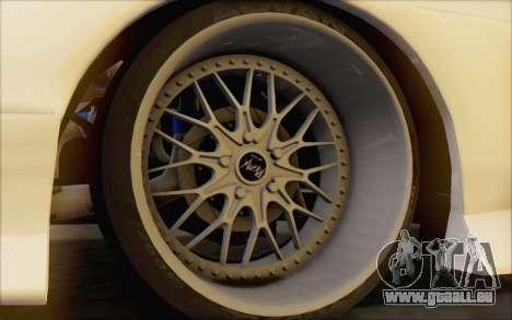 Nissan 240sx Blister für GTA San Andreas Rückansicht