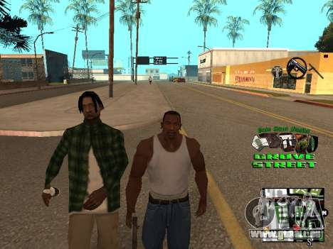С-HUD Grove Street für GTA San Andreas
