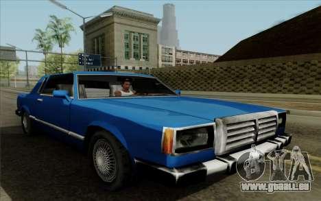 Feltzer hard top pour GTA San Andreas