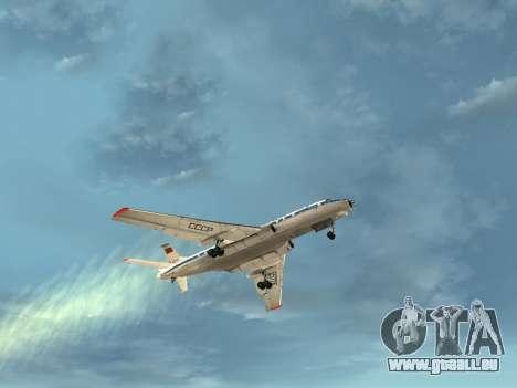 Tu-A für GTA San Andreas Unteransicht