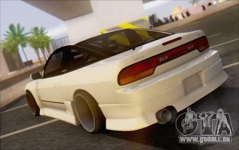 Nissan 240sx Blister pour GTA San Andreas sur la vue arrière gauche