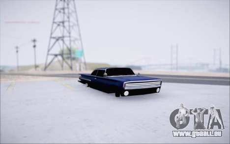 Voodoo Low Car v.1 pour GTA San Andreas laissé vue