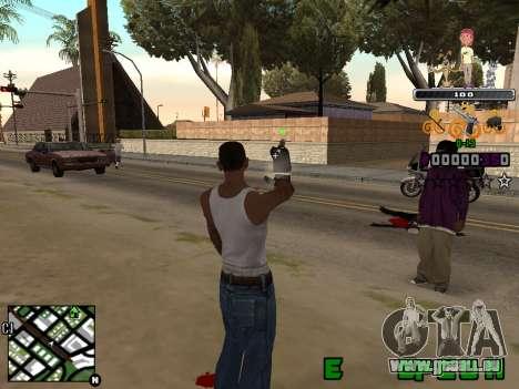 C-HUD Prostokvashino pour GTA San Andreas deuxième écran
