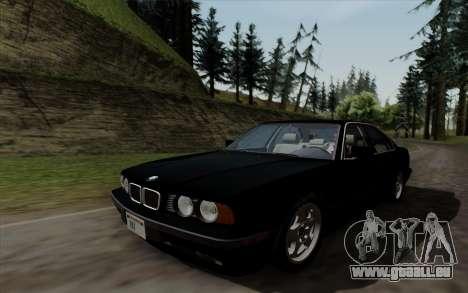 BMW 540i (E34) pour GTA San Andreas vue de droite