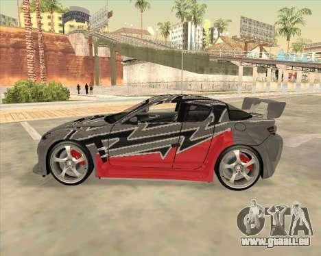 Mazda RX-8 из NFS Most Wanted für GTA San Andreas linke Ansicht