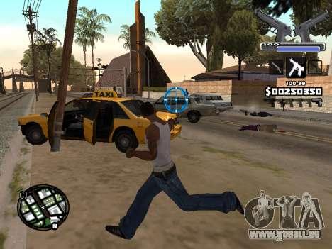 C-HUD Deagle für GTA San Andreas dritten Screenshot