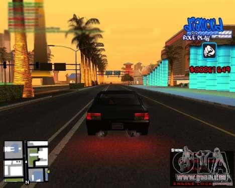 C-Hud Diamond RP pour GTA San Andreas