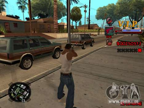 C-HUD VIP pour GTA San Andreas