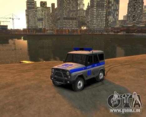 UAZ 315195 Chasseur de Police pour GTA 4