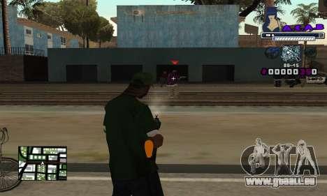 C-HUD SWAG pour GTA San Andreas troisième écran