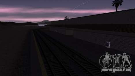 Neue Texturen Bahnhof in Las Venturas für GTA San Andreas her Screenshot