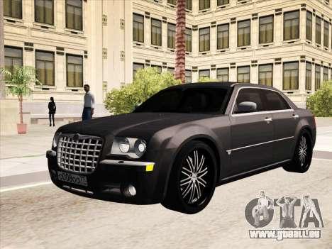 Chrysler 300C 2009 pour GTA San Andreas vue de dessous