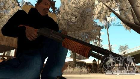 M1897 from Battle Territory Battery pour GTA San Andreas deuxième écran