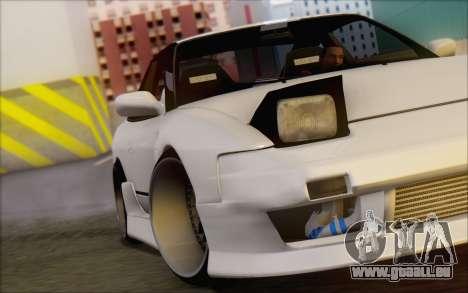Nissan 240sx Blister pour GTA San Andreas vue de dessus