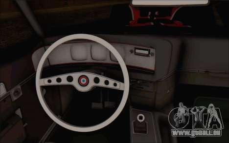 AMC Javelin pour GTA San Andreas vue de droite