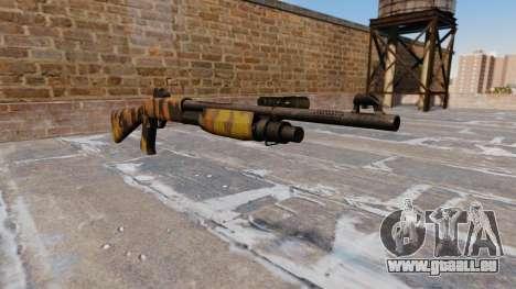 Ружье Benelli M3 Super 90 De L'Automne Camos pour GTA 4