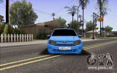 Lada Granta pour GTA San Andreas vue de droite